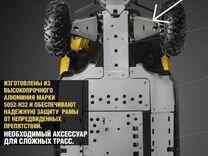 Защита рычагов передней подвески Maverick 71500163