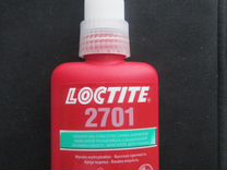 Клей резьбовой фиксатор высокой прочности Loctite