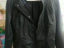 Кожаная куртка Stradivarius p.M