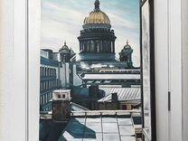 Картина «Окно в Петербург»