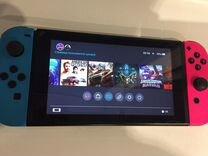 Nintendo switch (прошитый) + 64GB