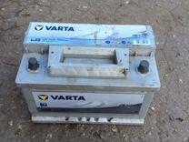 Аккумулятор varta silver 74Ah 750A
