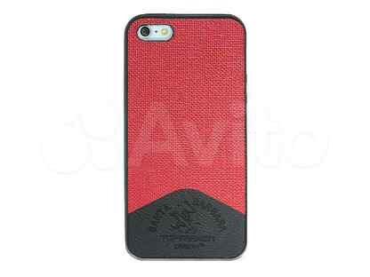 Чехол-накладка для iPhone 5\5S\SE TOP fashion Santa Barbara TPU красный Пакет