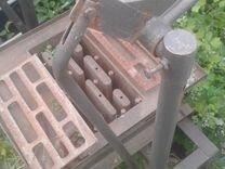 Станок для производства песко.киромзитных блоков