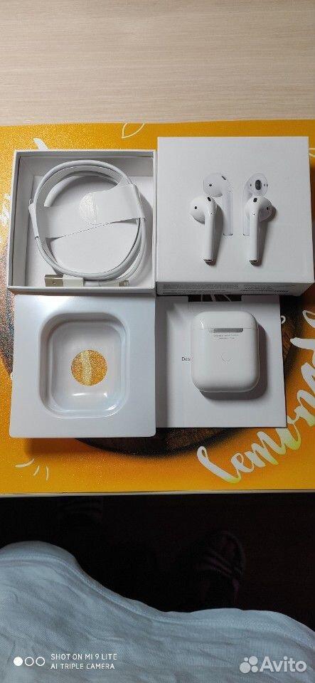 AirPods 2 люкс+подарок чехол в наличии  89678975244 купить 5