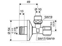 Вентиль регулирующий Schell Comfort 03 300 06 99
