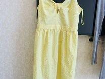 Платье летнее (желтое )