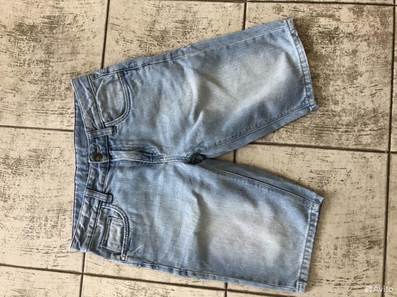 Шорты джинсовые на мальчика разм.152  89648893948 купить 1