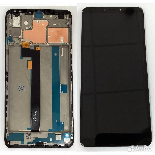 Экран Xiaomi Mi MAX 2 черный в рамке  89125558333 купить 1