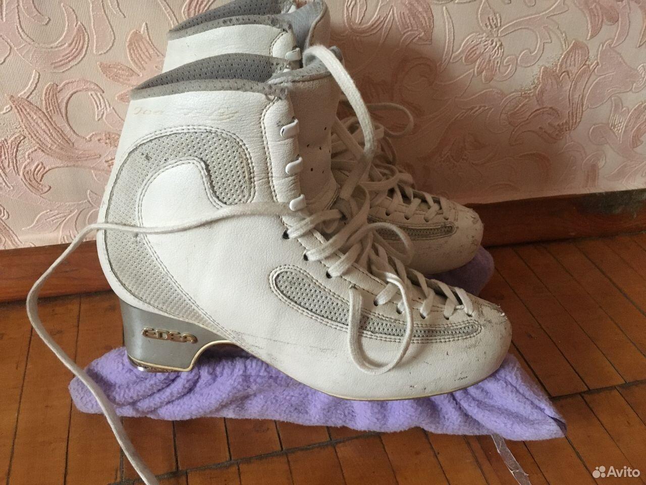 Ботинки фигурные edea ice fly  89221399556 купить 3