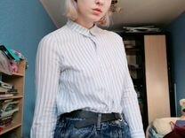 Рубашка (блузка) h&m (hm) в полоску