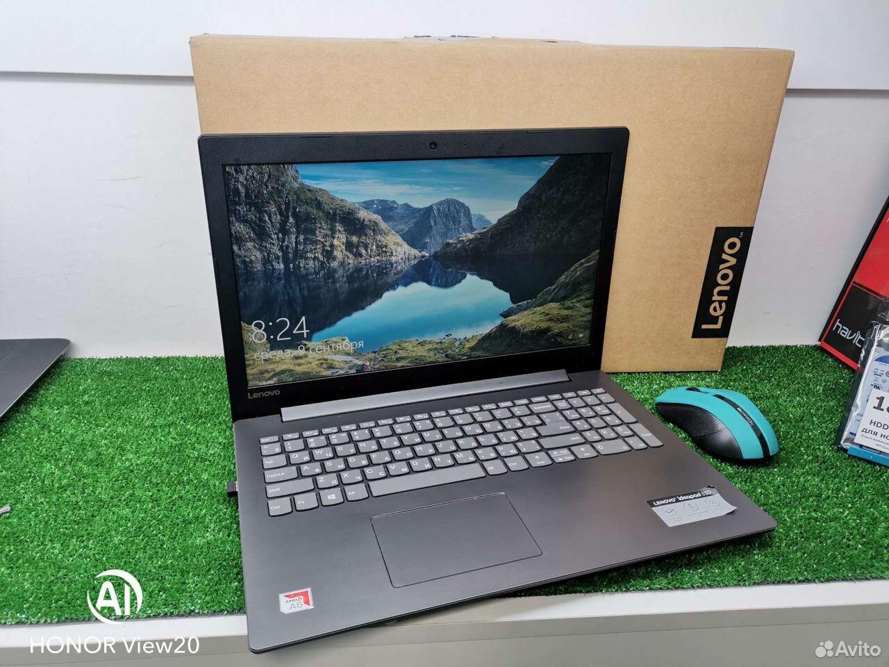 FHD Ноутбук Lenovo A6/4gb/500Gb комплект