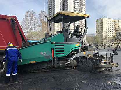 Асфальтоуладчик Vogele Super 1600-2