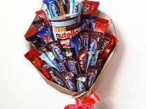 Букет из конфет и сладостей. Сладкий букет