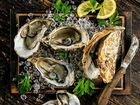 Свежие устрицы с Черного моря
