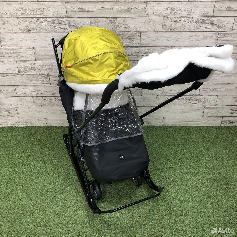 Санки-коляска Nika kids 7-5, цвета микс  89225759000 купить 1