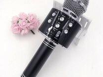 Микрофон караоке wster WS-858 черный