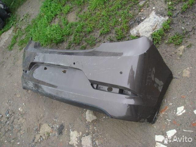Солярис Бампер задний (Отл) Hyundai Solaris 14-17  89205500007 купить 2