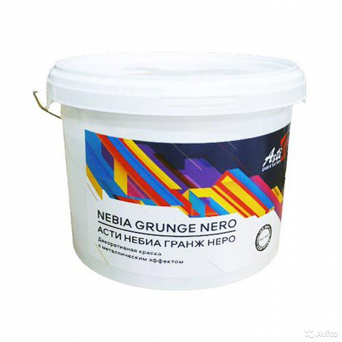 Краска асти небиа Гранж Неро  88314232562 купить 4