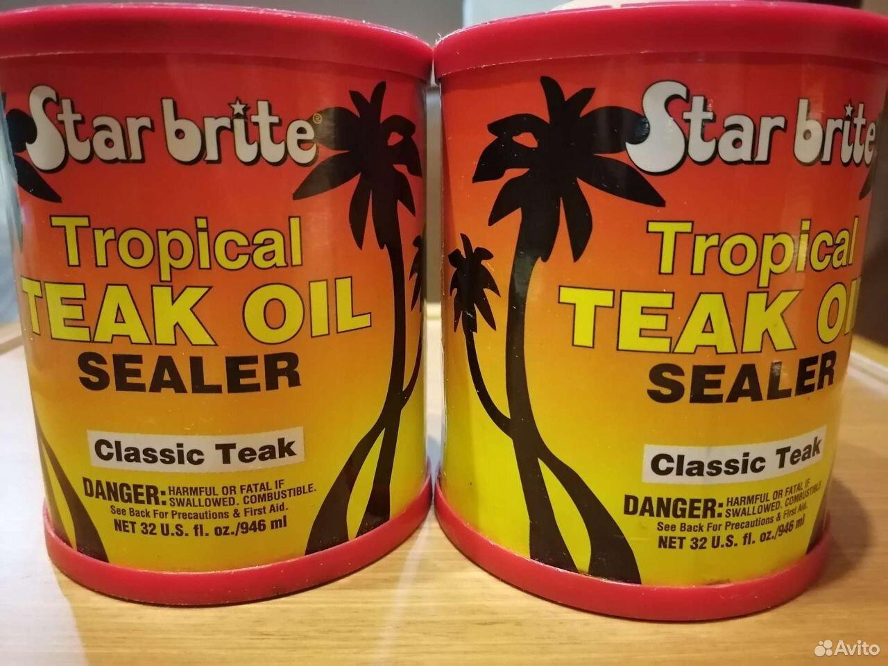 Пропитка из тикового масла StarBrite Tropical Teak
