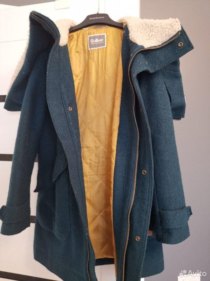 Пальто, шапка и снуд р. 140 на мальчика Gulliver  89059801353 купить 5