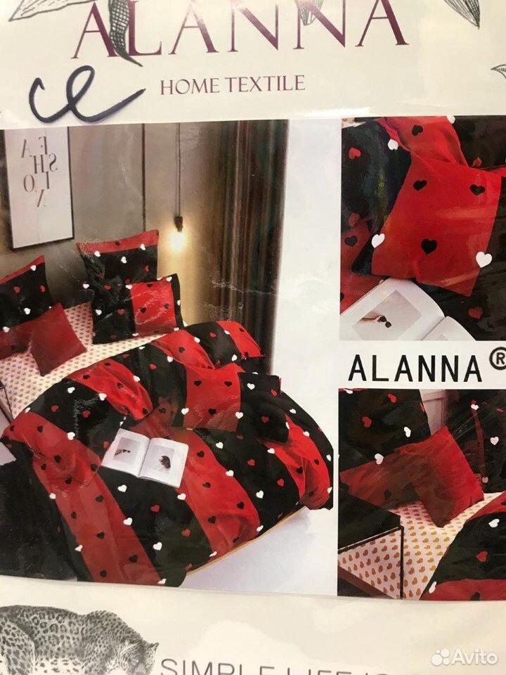 Семейный комплект постельного белья, Сатин  89630122262 купить 8