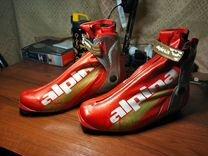 Лыжные ботинки alpina ESK elite skate 46 размер