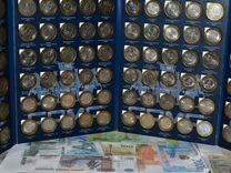 Памятные десятирублёвые монеты россии